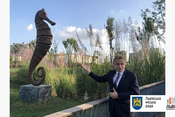 У Китаї встановили львівські пам'ятники (Фото)