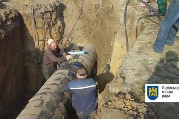Львів'яни отримуватимуть воду з пониженим тиском