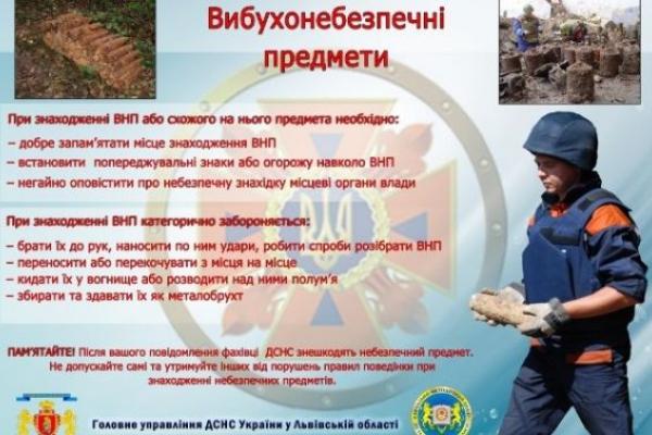 Піротехніки знешкодили артснаряд неподалік Львова