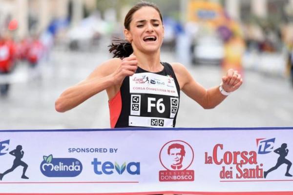 Львів'янка Софія Яремчук виграла 10-кілометровий забіг у Римі