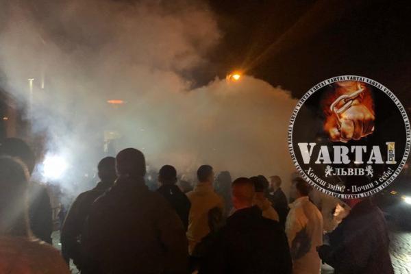 У Львові відбувається акція підтримки затриманого у Польщі учасника АТО (Відео)