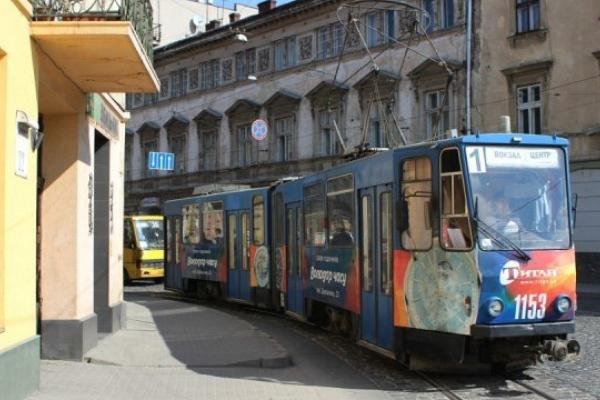 У Львові трамвай збив туриста з Полтави