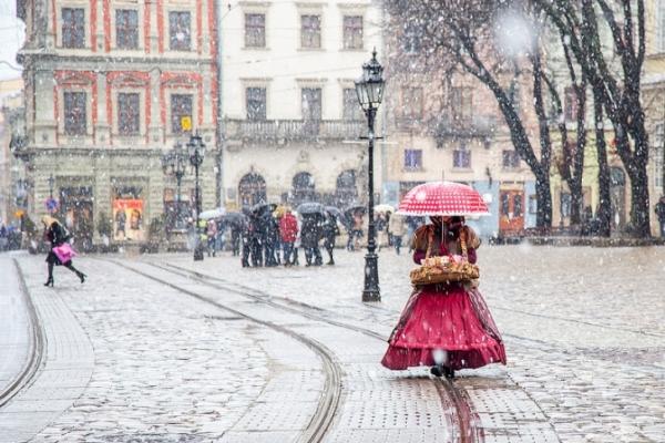 Перший сніг та мороз. Прогноз погоди у Львові на тиждень