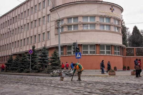 У Львові біля СБУ можуть побудувати кільце