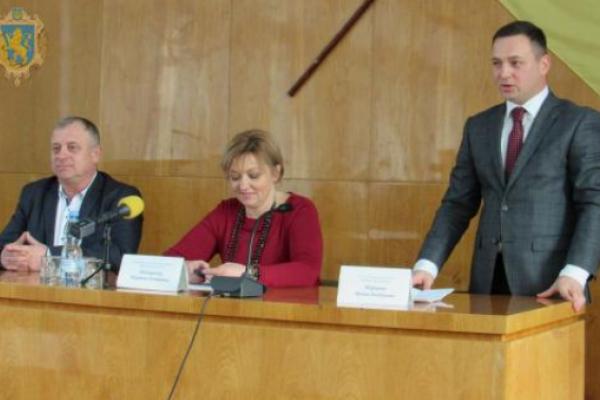 На Львівщині представили нового голову РДА