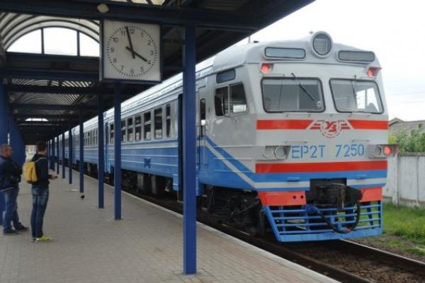 Потяг «Львів-Трускавець» курсуватиме інакше