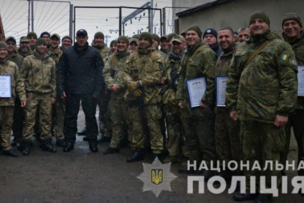 Бійці батальйону «Львів» повернулись зі сходу України