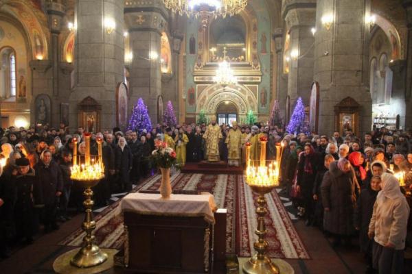 Римо-католицька спільнота Львова розпочинає святкування Різдва