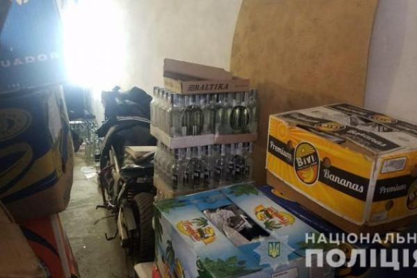 У Львові прикрили підпільний цех з виготовлення фальсифікованого алкоголю
