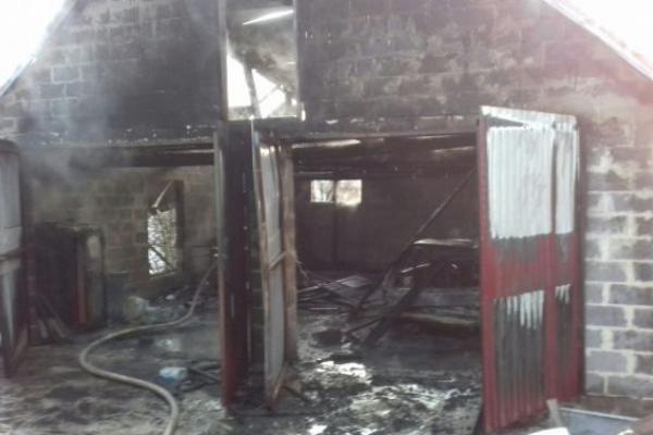На Львівщині зазнав опіків унаслідок пожежі селянин