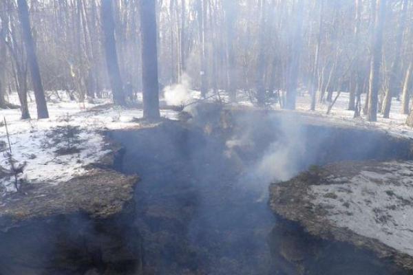 Невідомі вщент спалили музей-криївку УПА під Львовом (Фото)