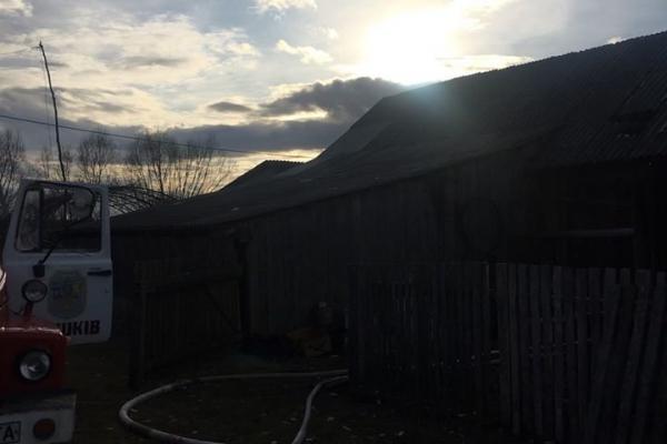 В пожежі на Львівщині 20-річний хлопець обгорів на 80%