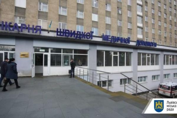 З вікна львівської лікарні вистрибнув 72-річний чоловік