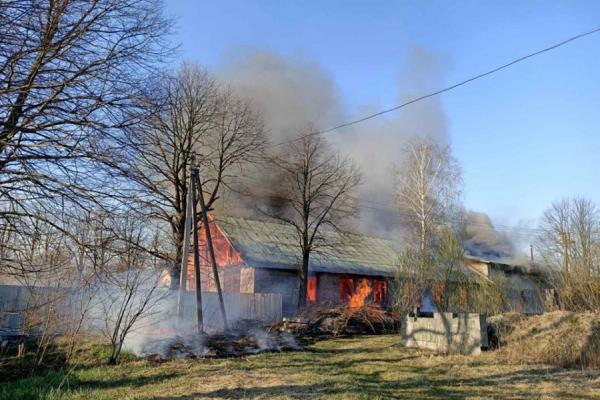 У пожежі на Львівщині загинув 39-річний чоловік