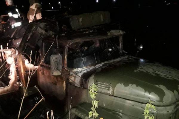 У Львівській області згоріла вантажівка Міноборони. Є жертви