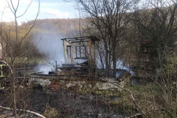 На Львівщині вогонь ледь не знищив дачне селище