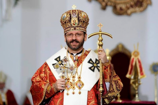 Блаженнійший Святослав проникливо заспівав пісню на слова Т. Шевченка (Відео)