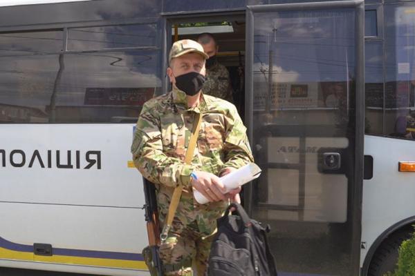 Правоохоронці Львівщини повернулись із зони проведення ООС