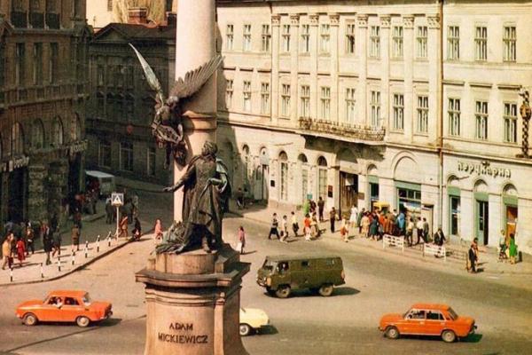 Сихів будується, заторів немає: у мережу виклали раритетні світлини Львова (Фото)
