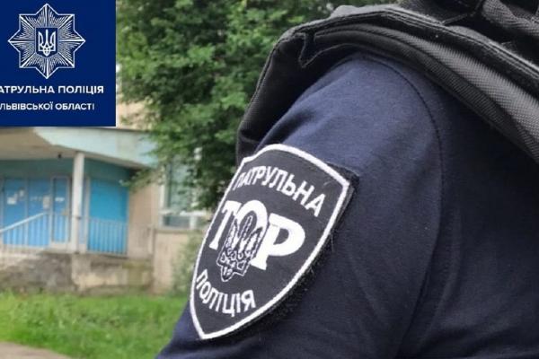 Львівські патрульні врятували 32-річну жінку від самогубства