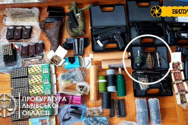 На Львівщині чоловік торгував саморобною зброєю через «Нову пошту» (Фото)