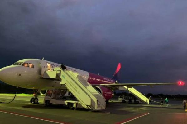 Угорський лоукостер запустив новий авіанапрямок зі Львова до Пардубіце