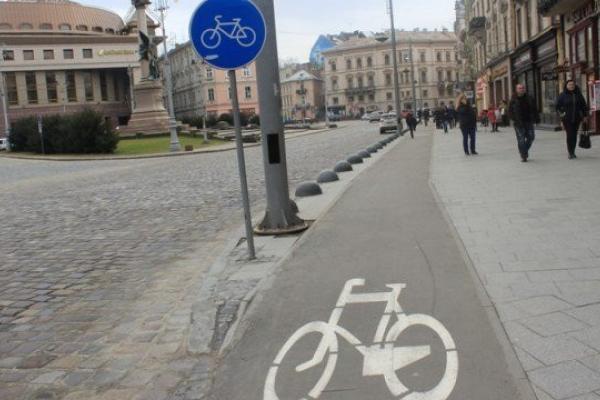 У Львові пропонують запровадити посвідчення для велосипедистів
