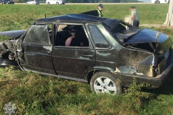 Під дією метадону чоловік розбив свою автівку
