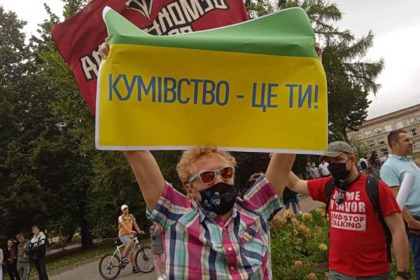 Зеленський проігнорував зустріч із пікетувальниками у Львові