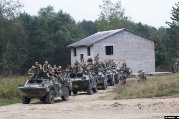 На теренах Львівщини розпочалися українсько-американські військові навчання