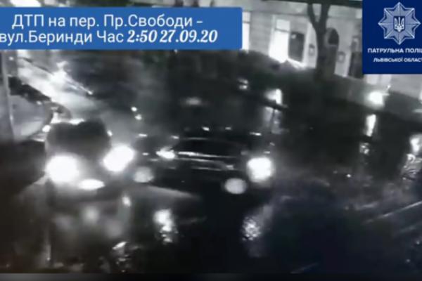 Жахлива ДТП у Львові: п'яний водій зніс на своєму шляху таксі