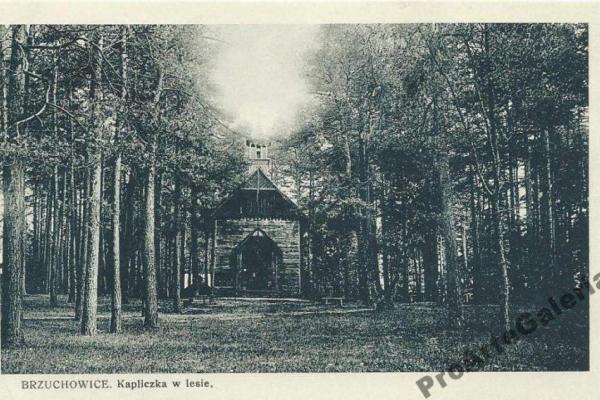 Як у Брюховичах з'явилася і зникла каплиця серед лісу (Фото)
