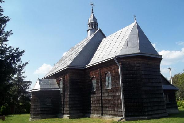 Раденицьке диво. Дерев'яний костел Успіння Пресвятої Діви Марії (Фото)