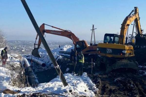 Побудова нового водогону Гірне - Дрогобич затягнулась