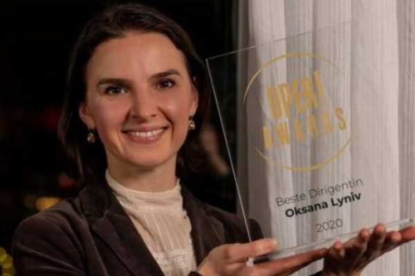Львів'янку у Берліні визнали найкращою диригенткою 2020 року