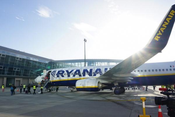 Ryanair анонсував відкриття нового авіарейсу зі Львова до Італії
