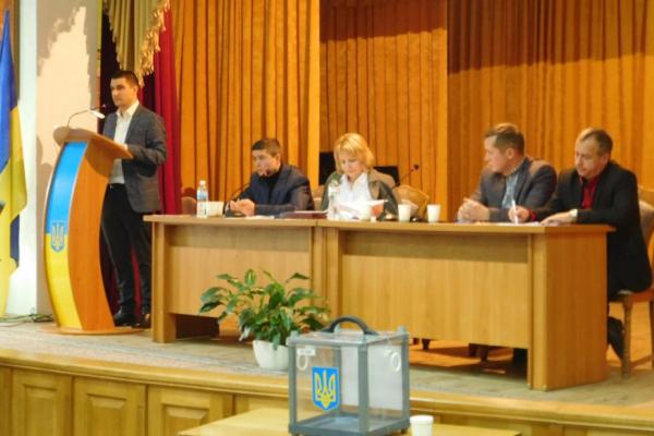 Головою Стрийської районної ради обрано Михайла Лучечка