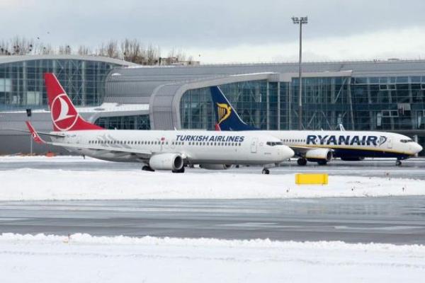Turkish Airlines збільшила кількість авіарейсів зі Львова