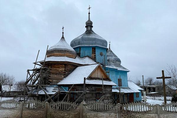 На Золочівщині планують реставрувати церкву XVIII століття