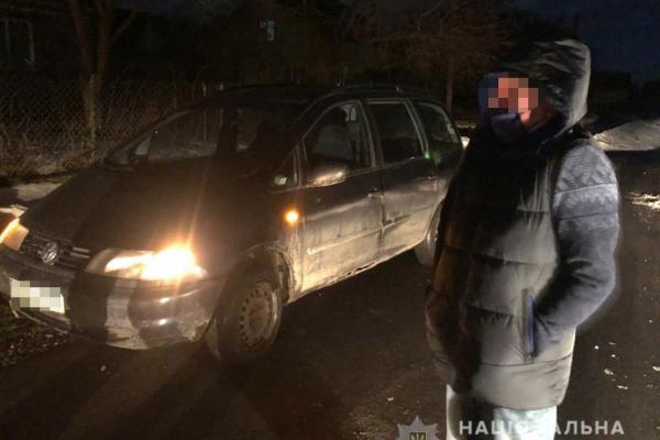 П'яний водій: відкрито кримінальне провадження за фактом пропозиції неправомірної вигоди (Фото)