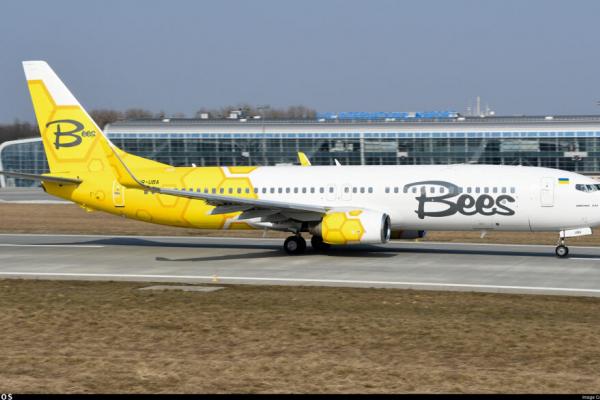 Лоукостер Bees Airline літатиме зі Львова до Києва