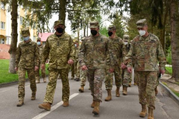 Львівщину відвідали генерали Збройних сил США