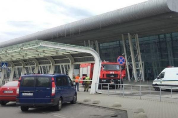 З львівського аеропорту евакуйовують людей