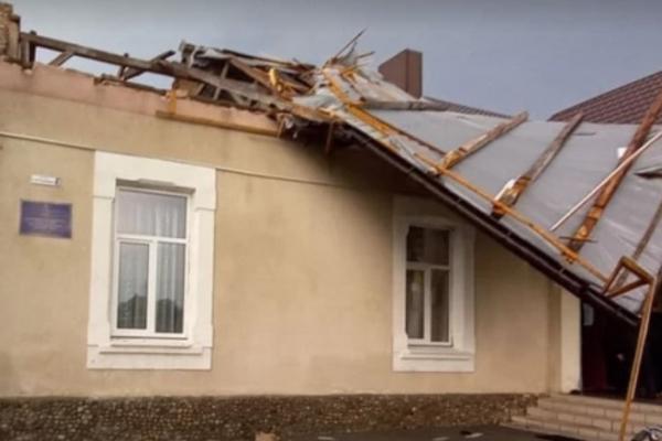 На Львівщині за кілька мільйонів відремонтують школи, які постраждали від буревію