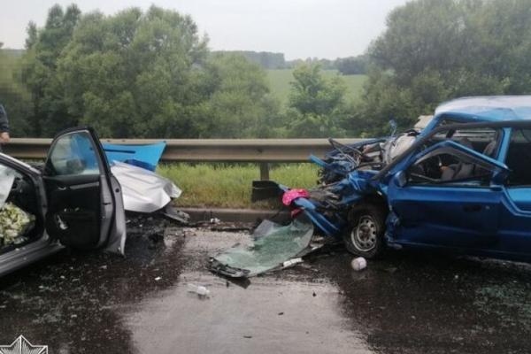 У ДТП на Львівщині постраждали шестеро людей, четверо з них – діти (Фото)