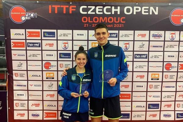 Львів'янка стала срібною призеркою на Чемпіонаті з настільного тенісу у Чехії