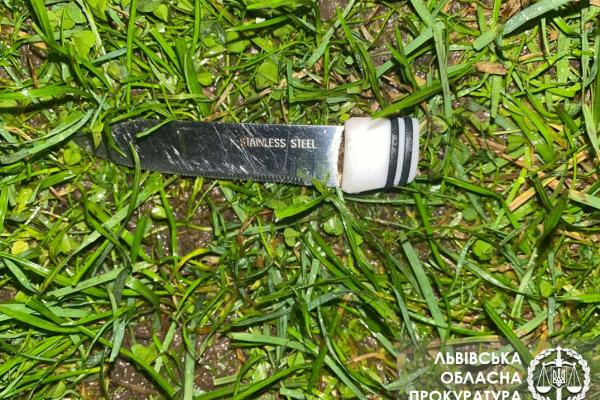 На Львівщині під час сварки тесть напав на зятя з кухонним ножем