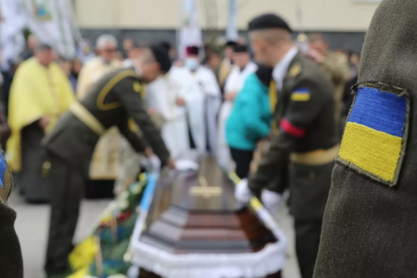 На Львівщині попрощалися із загиблим бійцем Романом Задорожним (Фото)
